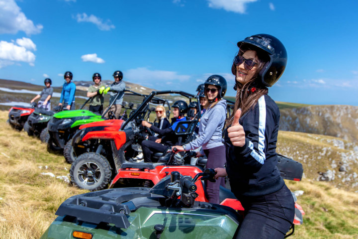 quad bike girl group